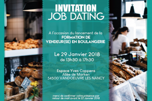 Invitation job dating